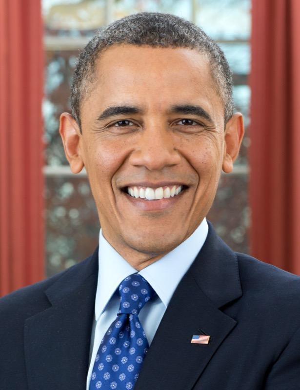 President Barack Obama 2012 portrait crop